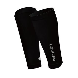 【CABALLERO】一體成型運動壓力腿套 黑