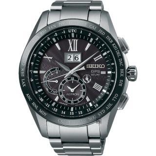 【SEIKO 精工】GPS 8X42 GPS太陽能鈦金屬衛星定位手錶(8X42-0AB0D  SSE137J1)