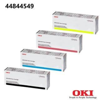 【OKI_ES8441 原廠黃色碳粉】44844549(OKI原廠黃色碳粉)