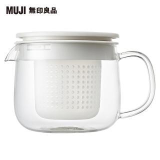 【MUJI 無印良品】耐熱玻璃壺/小