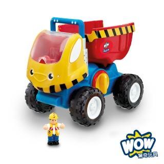 【英國驚奇玩具 WOW Toys】巨輪大卡車 杜德里