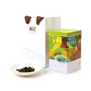 【無藏茗茶】阿里山高山綠茶-初見一抹綠(150g鐵罐裝)