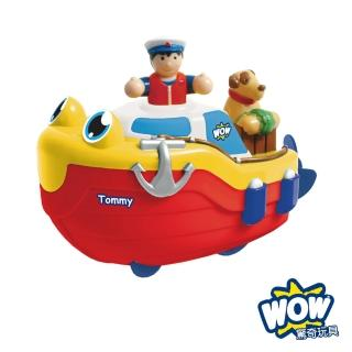 【WOW TOYS】水陸兩用洗澡玩具 探險快艇 湯米