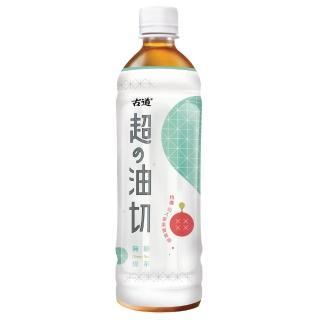 【古道】超油切綠茶-新無糖-600ml*4瓶