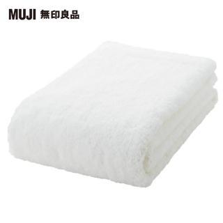 【MUJI 無印良品】有機棉輕柔小浴巾/厚型