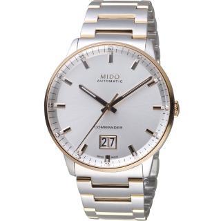 【MIDO 美度】Commander 指揮官系列 Big Date紀念日腕錶(M0216262203100)
