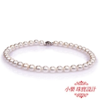 【小樂珠寶】3A南洋深海貝珍珠項鍊-10mm白色加長款48cm(珍珠加長達人)