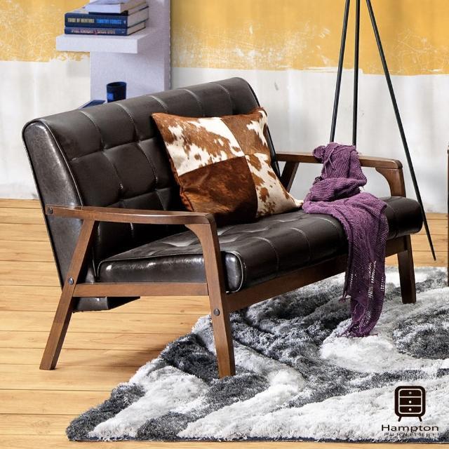 【Hampton 漢妮】弗格斯休閒沙發雙人椅(沙發/休閒沙發/椅子)
