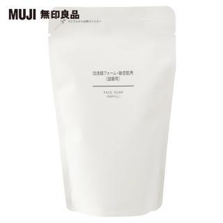【MUJI 無印良品】MUJI敏感肌泡沫洗面乳補充包/180ml