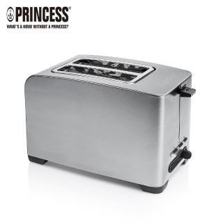 【PRINCESS 荷蘭公主】不鏽鋼厚薄片烤麵包機(142356快速到貨)