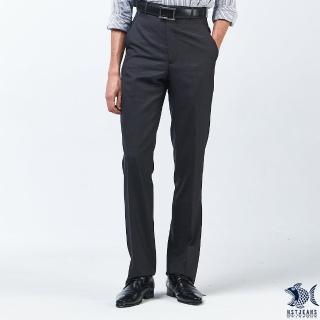 【NST JEANS】學院風格系列 男羊毛無打摺西裝褲-中腰(390-5617)