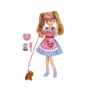 【TAKARA TOMY】莉卡娃娃 LD-11 寵物店莉卡(女孩 洋娃娃)