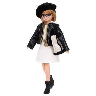 【TAKARA TOMY】莉卡娃娃 BIJOU俏麗皮衣(女孩 洋娃娃)