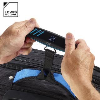 【LEWIS N CLARK】電子旅行行李箱秤 616(行李秤、電子秤、秤重、旅遊配件、美國品牌)