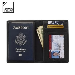 【LEWIS N CLARK】RFID屏蔽護照包 933(防盜錄、護照收納、短夾、旅遊配件、美國品牌)