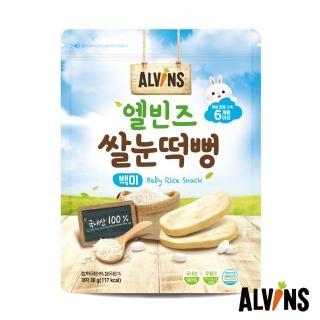 【韓國ALVINS愛彬思】寶寶大米餅30g(適合6個月齡以上寶寶)