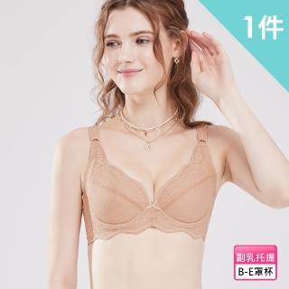 【岱妮蠶絲】舒適款蠶絲內衣-淺咖啡(FWB2ZF04)