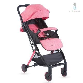 L.A. Baby城市輕旅嬰兒手推車(珊瑚紅)