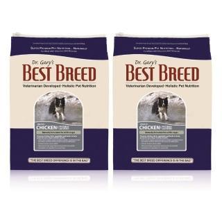 【BEST BREED 貝斯比】全齡犬雞肉+蔬菜與香草配方-6.8kg*2入(美國WDJ評選推薦)