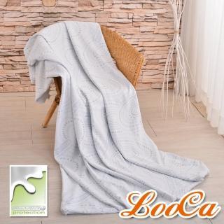 【LooCa】銀離子抗菌3-6cm薄床墊布套-拉鍊式(加大6尺-速達)