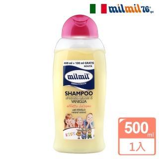 【MilMil】植粹香草保濕洗髮露(孩童適用/500ml)