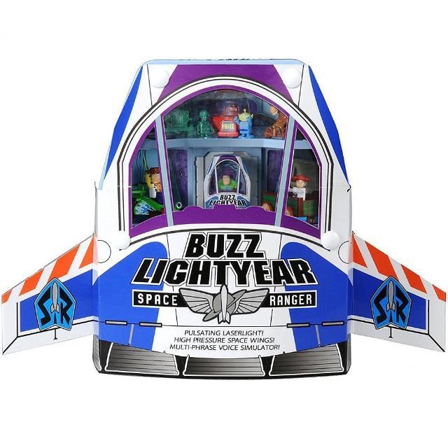 【TOMICA】玩具總動員小汽車巴斯光年宇宙船提盒組(小汽車)
