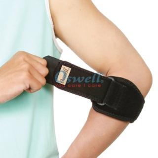 【oswell】S-17矽膠軟墊護肘(固定肌肉拉傷或韌帶扭傷)