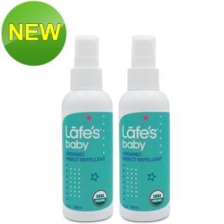 【Lafes organic】有機嬰兒防蚊液 118mlx2(原廠公司貨)