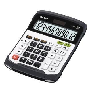 【CASIO 卡西歐】大螢幕12位數鍵盤分離式計算機(WD-320MT)