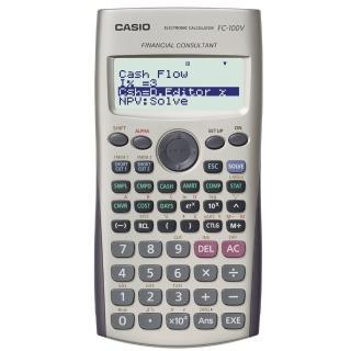 【CASIO 卡西歐】財務型計算機(FC-100V)
