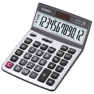 【CASIO 卡西歐】12 位元仰角桌上型計算機(DX-120ST)