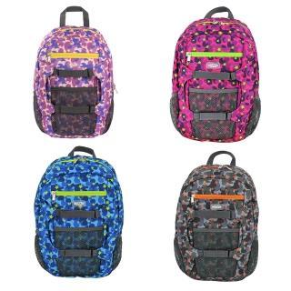 【英國HUGGER】孩童登山背包(迷彩藍)
