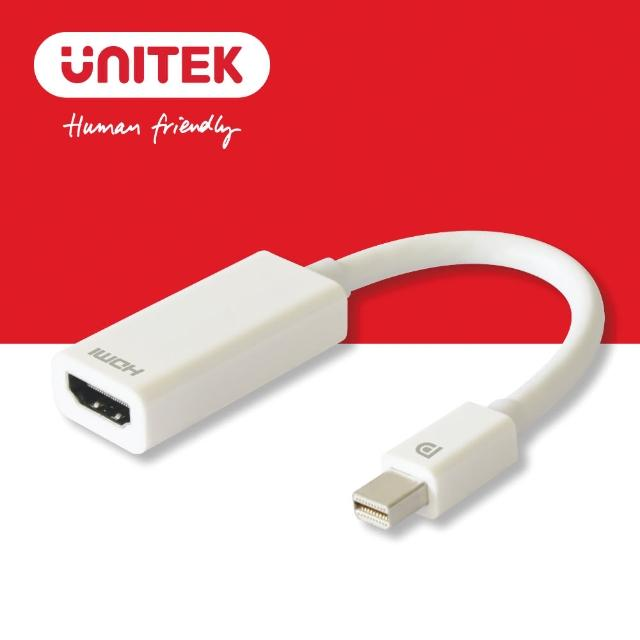 【UNITEK】優越者Mini DP轉HDMI轉換器 4K Y-6331(轉接)
