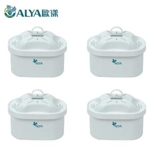 【ALYA 歐漾】科技濾水壺 PI 03W專用濾芯4入組