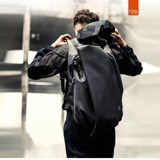【leaper】休閒潮款17.3吋防潑水防盜USB充電電腦後背包較大款 共3色(USB充電筆電包)