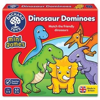 【Orchard Toys】可攜桌遊-恐龍接龍(Dinosaur Dominoes Mini Game)