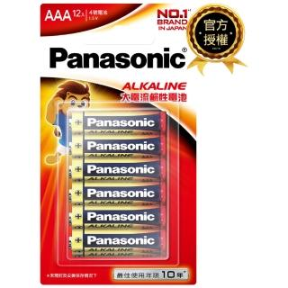 ~Panasonic 國際牌~大電流鹼性電池 4號12入