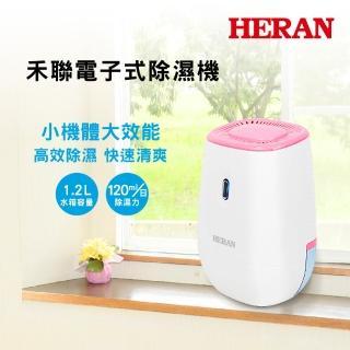 【驚爆加購】HERAN禾聯★粉色電子式除溼機 HDH-0391(P)