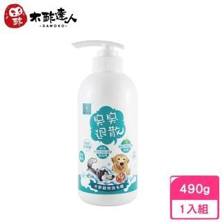 【木酢達人】木酢寵物洗毛精 490g