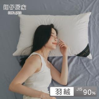 【翔仔居家】90/10頂級白鵝絨枕 - 45x74cm(2入組)