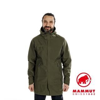 【Mammut 長毛象】HORIZON Jacket Men GTX 防水連帽外套 綠鬣蜥 男款 #1010-26590(亞洲限定款)
