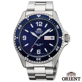 【ORIENT 東方錶】尖峰時刻自動上鍊機械運動腕錶-藍x41.5mm(FAA02002D9)