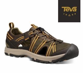 【TEVA】童 Manatee 多功能護趾運動涼鞋(橄欖綠-TV1019403CDOL/TV1019403YDOL)