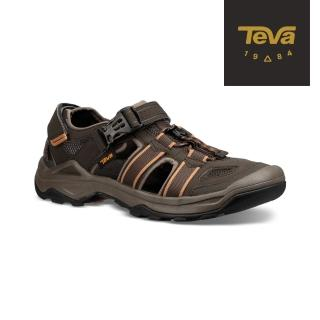 【TEVA】男 Omnium 2 護趾水陸機能涼鞋/雨鞋/水鞋(橄欖綠-TV1019180BLKO)