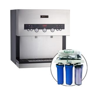 【德克生活】Q3-3S桌上型冰冷熱三溫飲水機(贈公規5道式RO逆滲透)