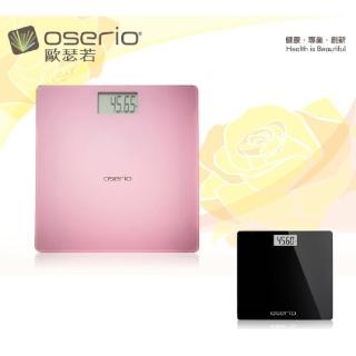 【oserio 歐瑟若】超薄玻璃體重秤(BAG-280)