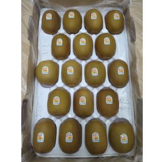 【愛蜜果】紐西蘭Zespri金圓頭黃金奇異果特大18入原裝箱(約3.3KG/箱)