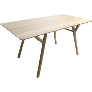 【YOI傢俱】利維餐桌 實木/餐桌/工作桌 160公分(YBO-T14)