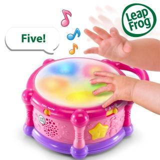 【LeapFrog】繽紛彩色學習鼓(寶寶 拍拍鼓 樂器)