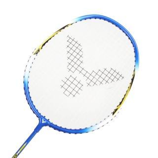 【VICTOR】亮劍穿線拍-羽球 羽毛球拍 訓練 勝利 藍黃(BRS-1733)